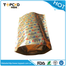 Professional and Standing aluminum foil bag for widely using in packing powdered carbon