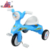 Appearance diverse plastic blue baby tricycle with music small car kid bike