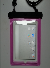 transparent version pvc case for ipad/for ipad waterproof bag