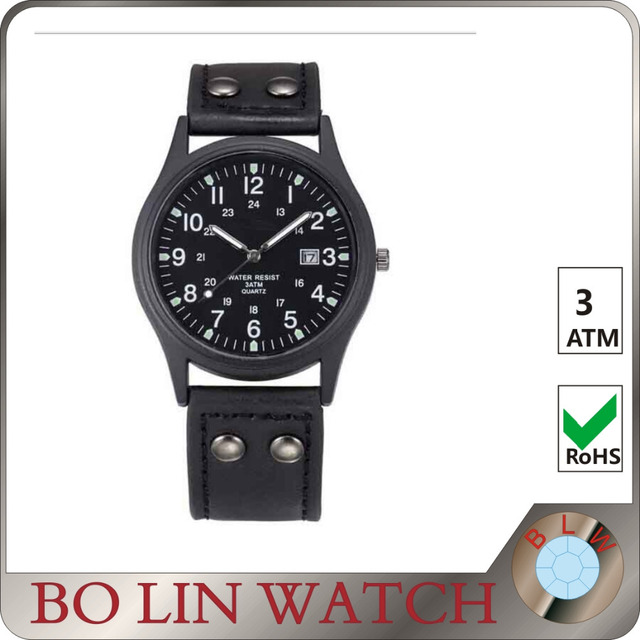 military watch private label, custom logo watch military, high quality watch stainless steel
