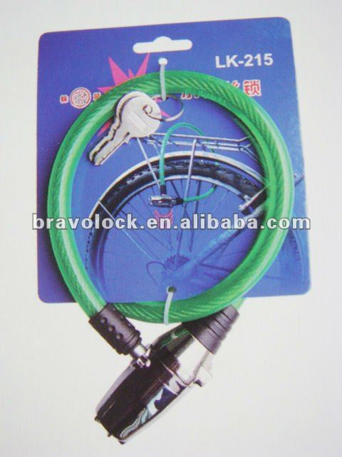 cable bike alarm lock 1.2*65CMcable