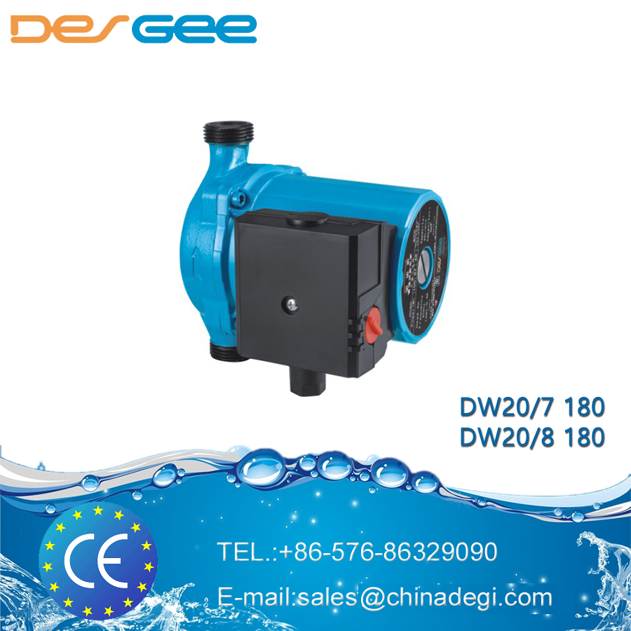 DEGEE DW20/7 180 small hot/cold water circulation shield electric centrifugal water pump