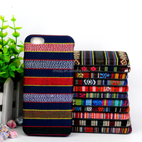 Personalized gift sublimation fabric plastic cover mobile phone case for iphone