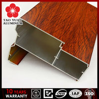 decorative window frame electrophoresis painting aluminum sliding window frame