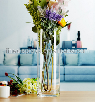 CManufacturer Customized Rectangle Acrylic Vase Wholesale
