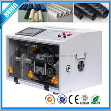 Automatic Corrugated Pipe cutting machine; rubber pvc circular tube cutting machine