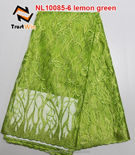 high quality and reasonable price african french net lace fabric