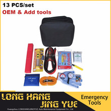 Factory price roadside car emergency kit safety warning road tools