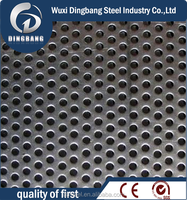 Factory 310 perforated sheet of stainless steel