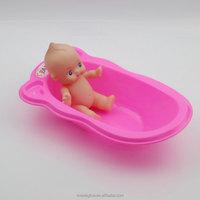 Pretty Cute Soft Plastic Vinyl Baby Toy Dolls for Kids