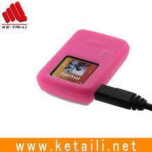promotional popular mp3 silicon protective cover