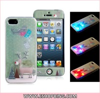 motomo Wire Drawing Plastic Case for iPhone 5S 5 Blue