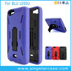 Dual Layer Robot Soft Rubber Hard Kickstand Hybrid Rugged Case For Blu Life XL L050U Cover