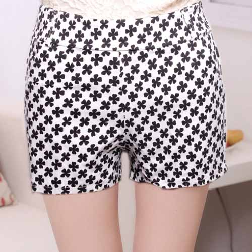 N15045 Arrival Summer Printed Women Shorts Wholesale Daily Fashion Ladies Short Pants