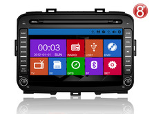 ugode KIA carens radio dvd cd gps with built in DVD GPS radio bluetooth USB IPOD TVAD-6240