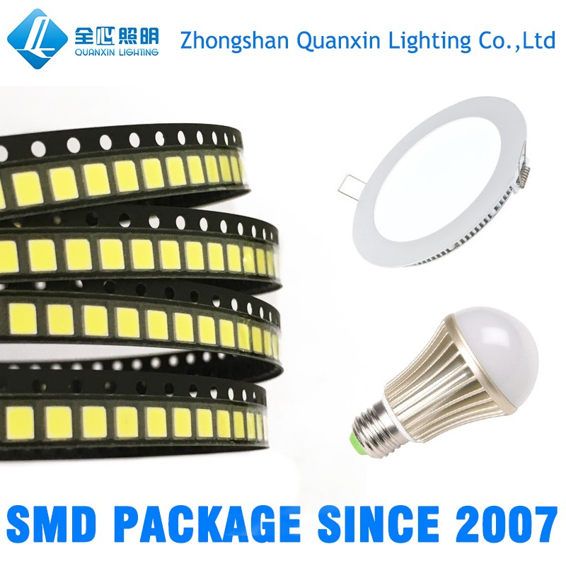 2835 5730 SMD Sanan/Epistar LED Chip 0.2W 0.5W 1W