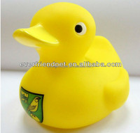 2014!pvc vinyl Yellow mouth squeaky call duck