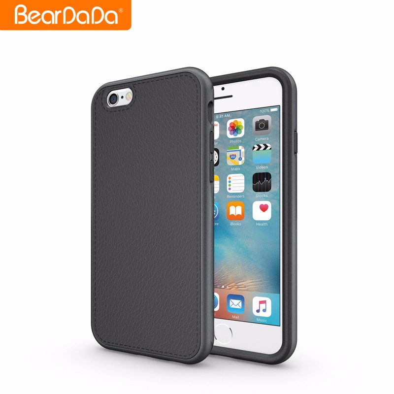 Latest High Quality Leather Skin smart case for iphone 6/7