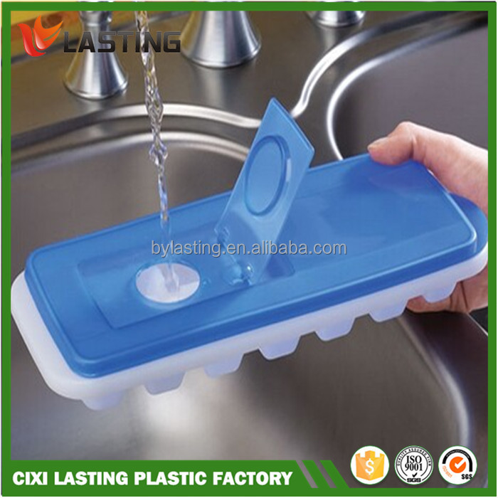 Leakproof Plastic Ice Cube Tray Water Ice Lattice Ice Mold