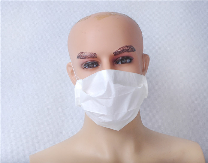 anti pollution mouth cover surgical nurse paper face mask