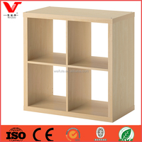 New design wooden wall expedit shelves wood cube