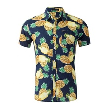 2019 men's shirts for men casual hawaii shirt