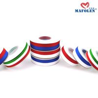 hot selling red and white stripe ribbon