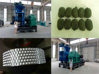 Factory price supply fire wood briquette making machine ball press machine