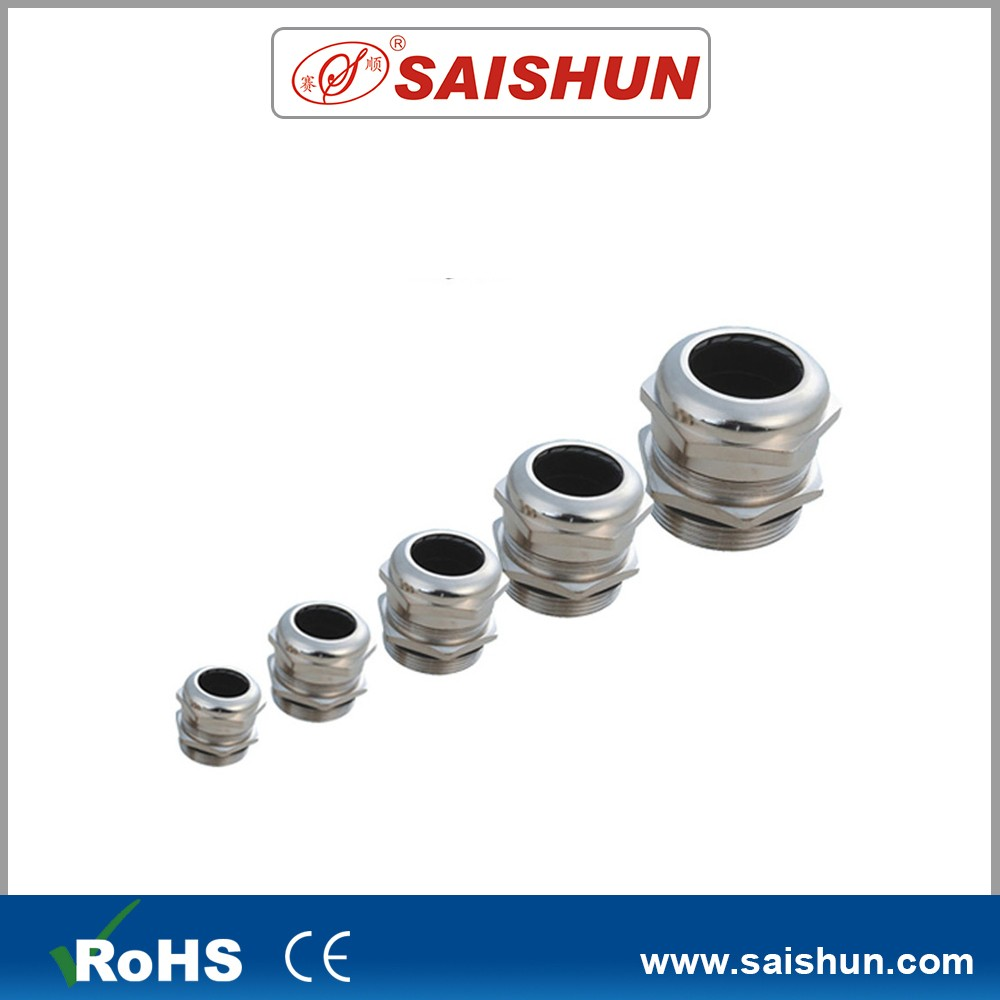 Metal saishun nickel plated cable gland shroud