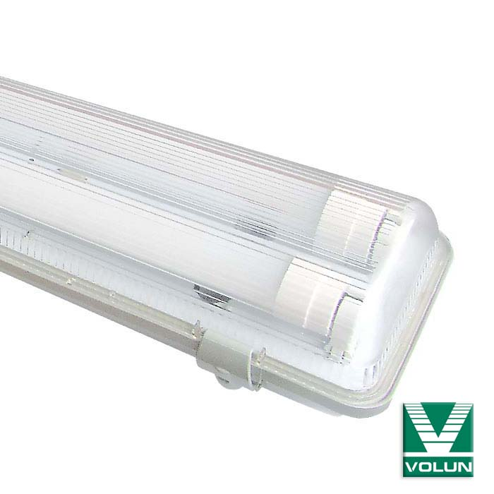 led under cabinet lighting china lighting 610mm Tri-proof fixture IP65 T8 LED tube