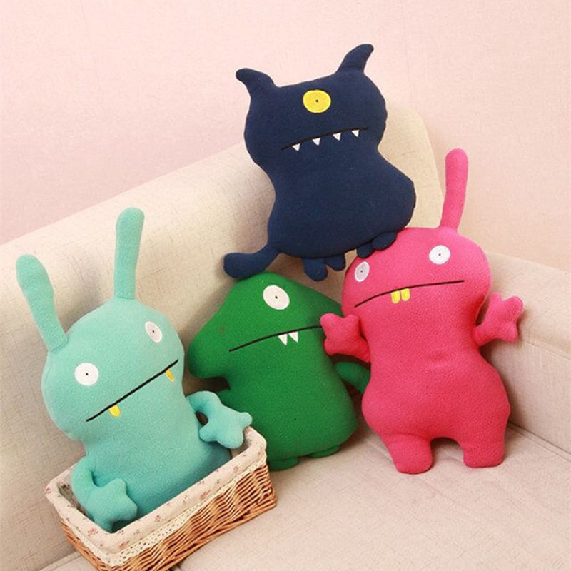 Cute Monster Korea Ugly Doll Pillow Dolls Plush Toys Dolls And Creative Trend Toy For Children Birthday Christmas Gifts