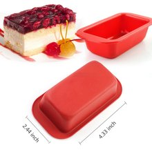 Disposable Silicone Baking Bread Cake Loaf Pan, Homemade Silicone Soap Loaf Mold