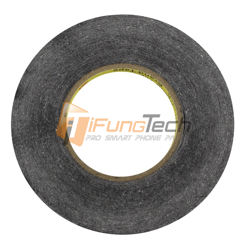 0.5mm to 10mm, All Size 3M 9448A Black Double Sided Tissue Tape For Repairing Cellphone Touch Screen LCD LED Display Pannel