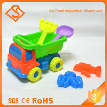 Summer toy kids outdoor play tools sand beach set with plastic shovel