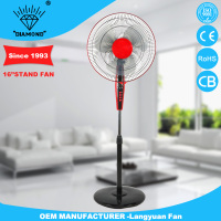 New design 220v 16 inch 3 in 1 battery emergency stand fan with strong wind