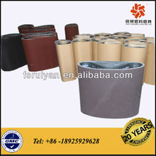 RY609 wood sanding belts for wide belt sander
