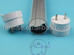LED tube lighting T8 fixture components supplier