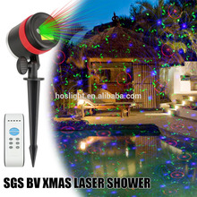 Mini led light garden spot holographic projector laser lights christmas outdoor