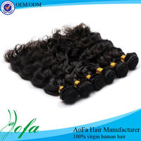 No chemical processed malaysian virgin hair wefts wholesale