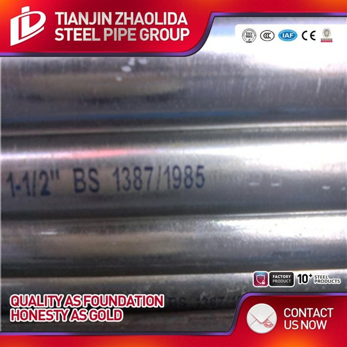 cold rolled dia 10 - 101 mm astm a523 hollow sections pre galvanized stocking tube for construction use