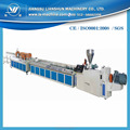 Environmental friendly PVC wood and door profile extruder