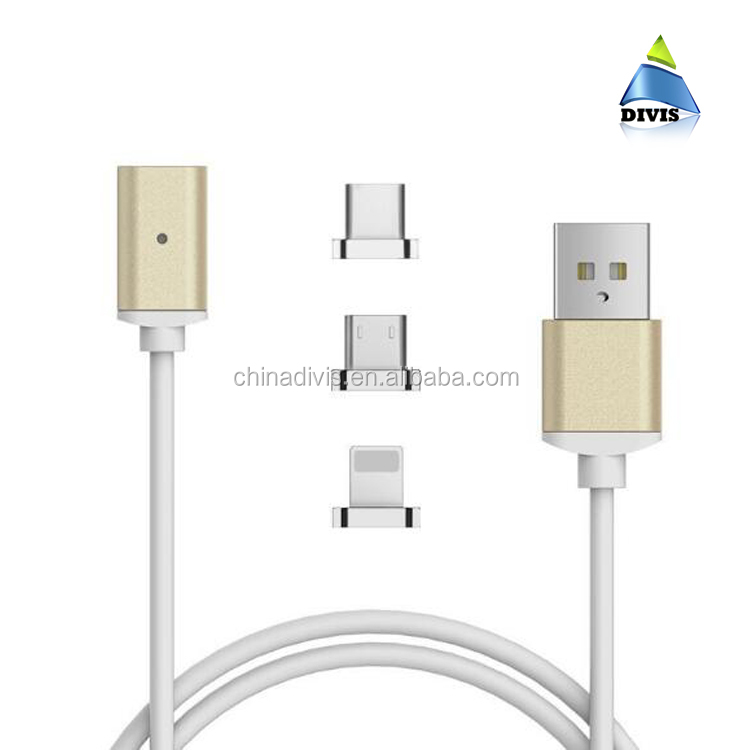 New arrival fast charging magnetic micro usb data magnetic cable android
