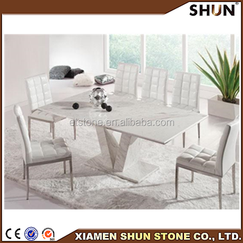 8 Seater Marble Dining Table Round Or Rectangle Marble Table Marble Centre Ta