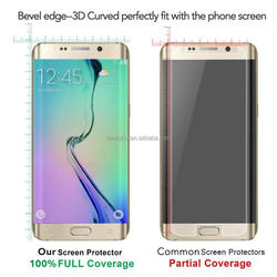 Hot Sale! Custom Made Transparent Screen Protector for Samsung Galaxy s7 Tempered Glass