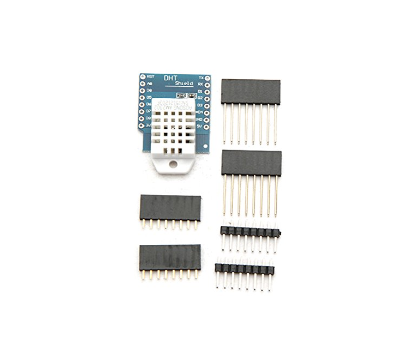 Electronic DHT Pro Shield for WeMos <strong>D1</strong> mini DHT22 Single-bus Digital Temperature and Humidity Sensor Module