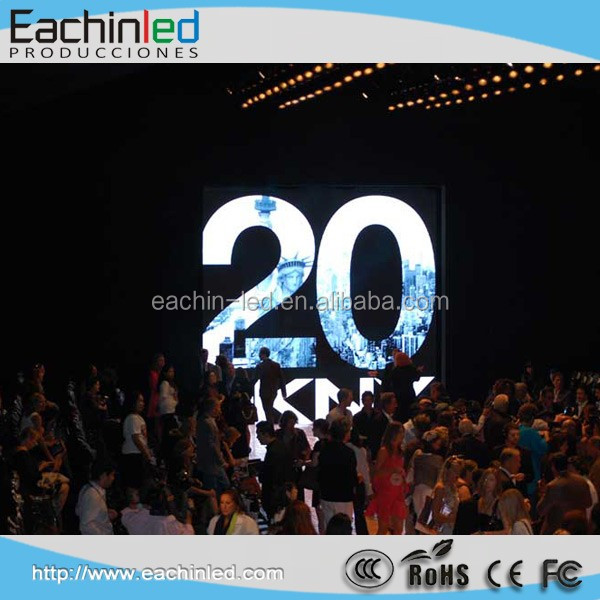 Stage background aluminum material P3.9 led display Nova MTRL300 sending card