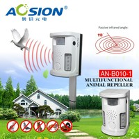 Bird Repeller AN-B010 Scaring off animals through visual and audio signals