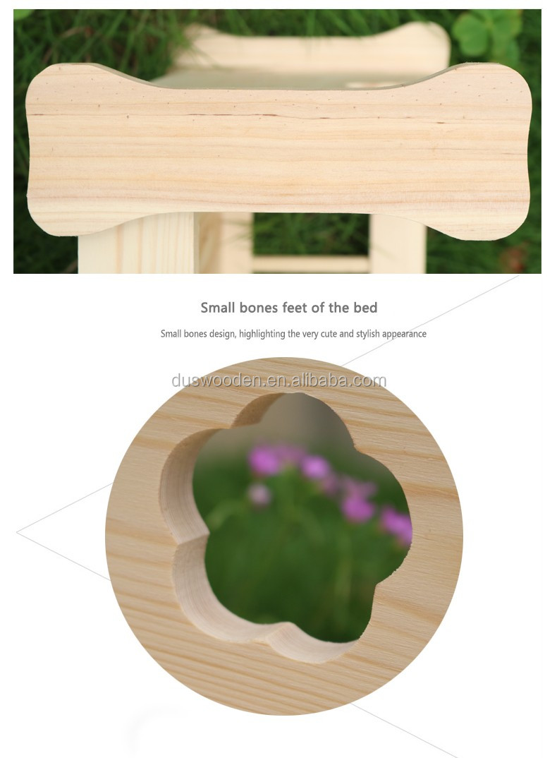 Wooden dog bed Puppy bed Pet bed