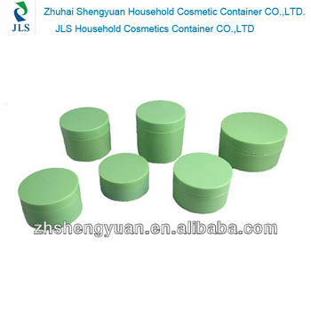 100ml cosmetics PP material round cream jar