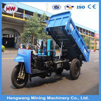High quality diesel engine three wheeler tricycle for cargo use